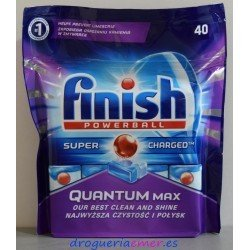 FINISH Quantum Caps Lavavajillas (40 Lavados)