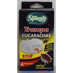 SPLASH Trampa Cucarachas ( 4 unidades)