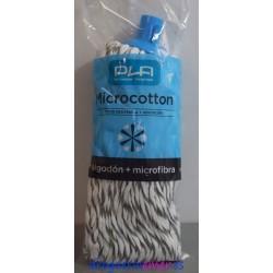PLA Fregona Microcotton (Hilo Blanco y Gris)