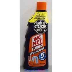 WC NET Turbo Desatascador 500ml