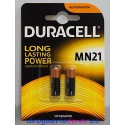 DURACELL LONG Pilas Alcalinas MN21 (2 unidades)