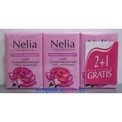 NELIA Jabón 3 Pastillas X 120grs