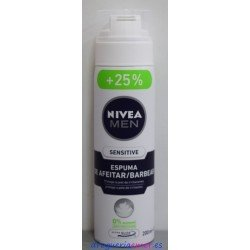 NIVEA Men Espuma Piel Sensible 250ml