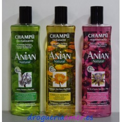 ANIAN Natural Champu 400ml (3 Tipos)