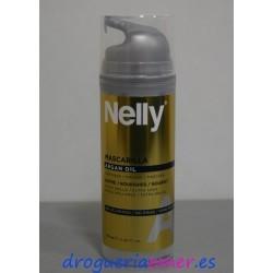 NELLY Mascarilla Sin Aclarado Argán Dosif. 150ml