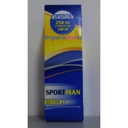 SPORT MAN Eau de Toillette 250vp.