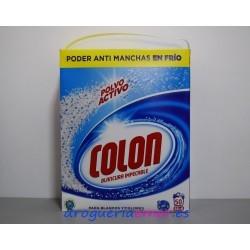 COLON Detergente en polvo 50 Cacitos