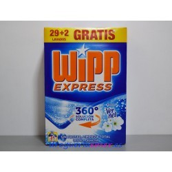 WIPP EXPRESS Vernel Detergente en polvo 31 Cacitos