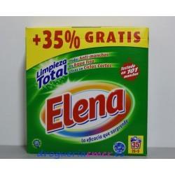 ELENA Detergente en polvo 35 Cacitos