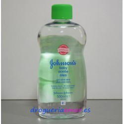 JOHNSON'S Aceite Corporal Baby Aloe Vera 500ml