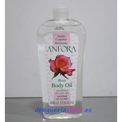 ANFORA Aceite Corporal Rosa 400ml