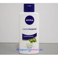 NIVEA Leche Corporal Hidratante con Aceite de Oliva (Piel Seca) 400ml