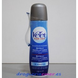 VEET for Men Spray Depilatorio (Pieles Normales) 150ml