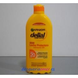 DELIAL GARNIER Leche Protectora Hidratante (F.Protección 20) 400ml