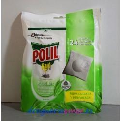 POLIL Pastillas Antipolillas Té Verde (24 unidades)