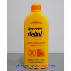 DELIAL GARNIER Leche Protectora Hidratante (F.Protección 30) 400ml