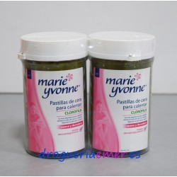 MARIE YVONNE Pastillas Cera Clorofila PACK 230grs + 230grs