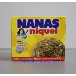 NANAS Estropajo Níquel (1 Unidad)