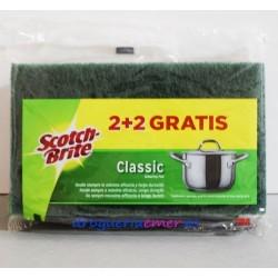 SCOTCH-BRITE Estropajo Classic (4 Unidades)