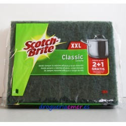 SCOTCH-BRITE Estropajo Classic XXL (3 Unidades)
