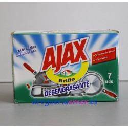 AJAX Estropajo Jabonoso Desengrasante (7 Unidad)