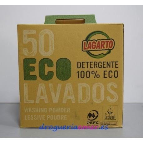 LAGARTO Detergente 100% Eco (50 Lavados)