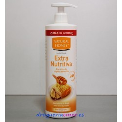 NATURAL HONEY Loción Extra Nutritiva Dosficador 750ml