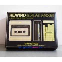 SPRINGFIELD Rewind & Play Again (Black) Estuche 2 piezas