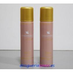 VANDERBILT Desodorante Spray 75ml (2 UNIDADES)