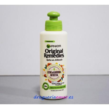 ORIGINAL REMEDIES GARNIER Aceite en Crema sin Aclarado 200ml