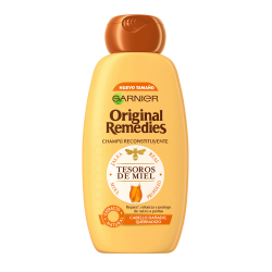 ORIGINAL REMEDIES GARNIER Champú Tesoros de Miel 300ml