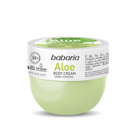 BABARIA Body Cream Vitamina Aloe 400ml