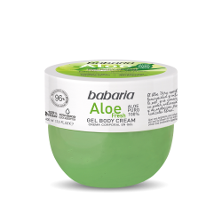 BABARIA Body Cream en Gel Aloe Fresh 400ml