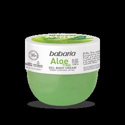 BABARIA Body Cream en Gel Aloe Fresh 400ml