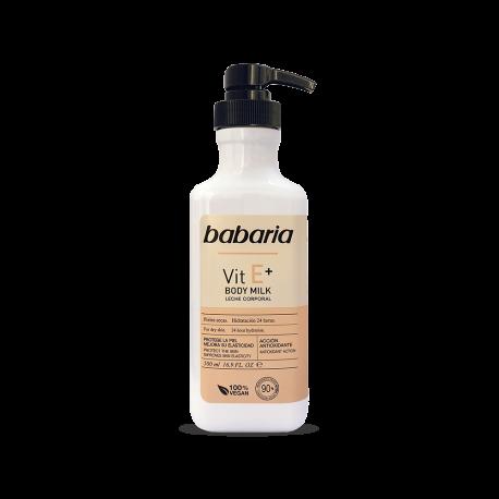 BABARIA Body Milk E+ 500ml Dosificador