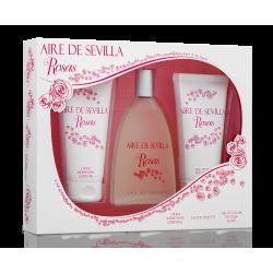 AIRE DE SEVILLA Agua Fresca de Rosas Estuche 3 piezas
