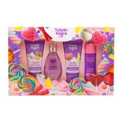 TULIPAN NEGRO Candy Fantasy Estuche 4 piezas