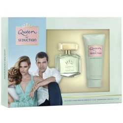 ANTONIO BANDERAS Queen of Seduction Estuche 2 piezas