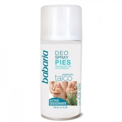 BABARIA Desodorante Spray Pies 150ml