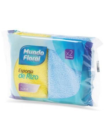 MUNDO FLORAL Esponja Rizo 2...