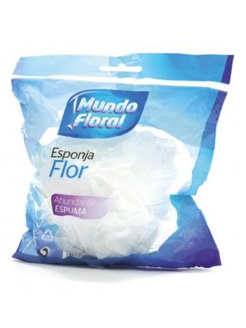 MUNDO FLORAL Esponja Flor