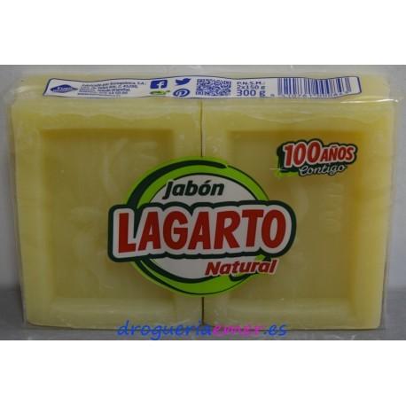 LAGARTO Jabón Pastillas Duplo 2X150grs