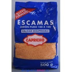 capricho Detergente Escama 500grs