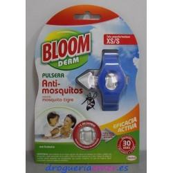 BLOOM Pulsera Antimosquitos (Talla Pequeña/Mediana)