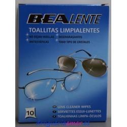BEA LENTE Toallitas Limpia Gafas (10 unidades)