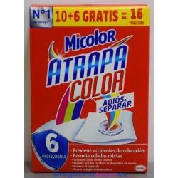 MICOLOR Toallitas Atrapa Color (16 unidades)