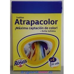 LAS DOS ROSAS Toallitas Atrapa Color (20 unidades)
