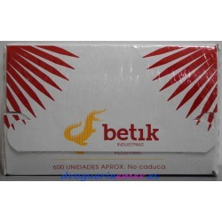 BETIK Palillos Planos Higienicos (600 unidades aprox)
