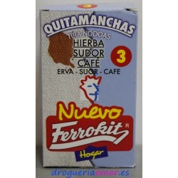 FERROKIT Quitamanchas Hierba/Sudor/Café 50ml