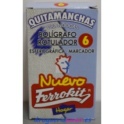 FERROKIT Quitamanchas Bolígrafo/Rotulador 50ml